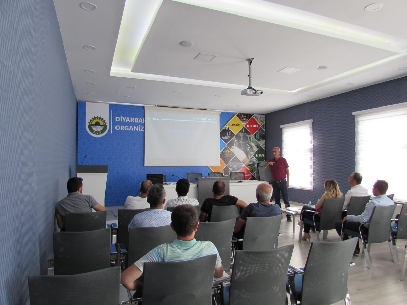 Diyarbakır OSB'de Stratejik Planlama Danışmanlık Hizmeti